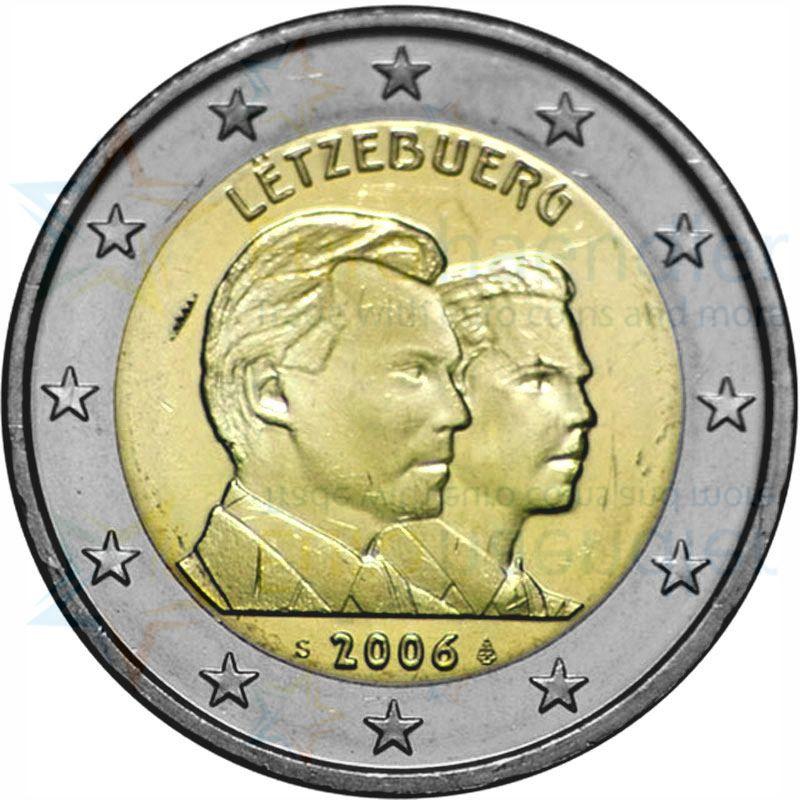 luxemburg kms 2006 st 1 cent 2 euro und 2 euro im folder. Black Bedroom Furniture Sets. Home Design Ideas