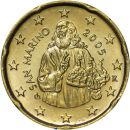 San Marino 20 Cent Kursmünze 2005 ST lose