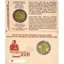 Slowenien 2 Euro Gedenkmünze 2008 ST - Primoz Trubar...