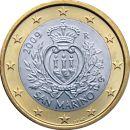 San Marino 1 Euro Kursmünze 2009 ST lose