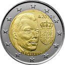 Luxemburg 2 Euro Gedenkmünze 2010 ST Wappen von...
