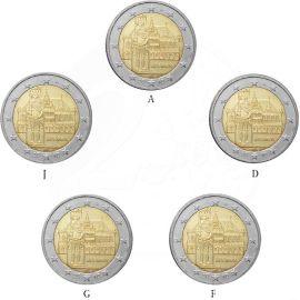 Deutschland 5 x 2 Euro Gedenkmünze 2010 ST Bremen - Roland lose