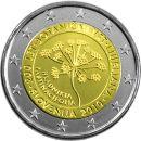 Slowenien 2 Euro Gedenkmünze 2010 ST Botanischer...