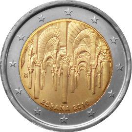Spanien 2 Euro Gedenkmünze 2010 ST Moschee von Cordoba lose