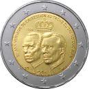 Luxemburg 2 Euro Gedenkmünze 2014 ST Thronbesteigung...