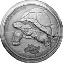 Tokelau 5 Dollar 2013 - Schildkröte 1 Oz Silber*
