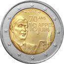 Frankreich 2 Euro Gedenkmünzen Rolle 2010 ST Charles...