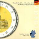 Deutschland 5 x 2 Euro Gedenkmünze 2011 ST...