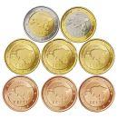 Estland KMS 2011 1 Cent bis 2 Euro lose