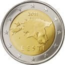 Estland 2 Euro Kursmünze 2011 ST lose