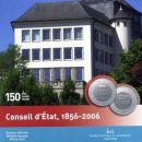 Luxemburg 20 Euro 2006 PP 150 Jahre Staatsrat Silber...
