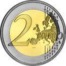 Slowakei 2 Euro Gedenkmünze Rolle 2011 ST Visegrad Gruppe