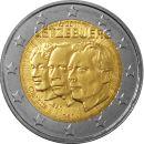 Luxemburg 2 Euro Gedenkmünzen Rolle 2011 ST Jean de...