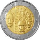 Luxemburg 2 Euro Gedenkmünze 2015 ST Dynastie Nassau...
