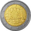 Irland 2 Euro Gedenkmünze 2015 ST - 30 Jahre Europa...