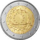 Niederlande 2 Euro Gedenkmünze 2015 ST 30 Jahre...