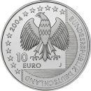 Deutschland 10 Euro 2004 PP - National Park Wattenmeer...