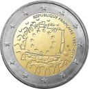 Frankreich 2 Euro Gedenkmünze 2015 ST - 30 Jahre...