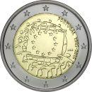 Portugal 2 Euro Gedenkmünze 2015 ST 30 Jahre Euro...