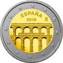 Spanien 2 Euro Gedenkmünze 2016 ST - Aquädukt...