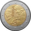 Niederlande 2 Euro Gedenkmünze Rolle 2011 ST Erasmus...
