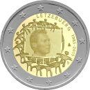 Luxemburg 2 Euro Gedenkmünze 2015 ST - 30 Jahre...