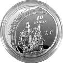 Frankreich 10 Euro 2011 PP - Jaques Cartier - Silber im...