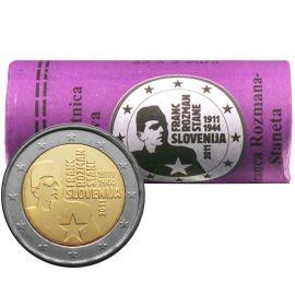 Slowenien 2 Euro Gedenkmünze Rolle 2011 ST Franc Stane Rozman