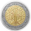 Frankreich 2 Euro Kursmünze 2010 PP aus KMS Proof...