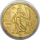 Frankreich 20 Cent 2009 PP aus KMS
