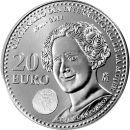 Spanien 20 Euro Gedenkmünze 2011 ST 100 Jahre...