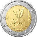 Belgien 2 Euro Gedenkmünze 2016 ST Olympische Spiele...
