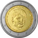 Belgien 2 Euro Gedenkmünze 2016 ST Child Focus Kinder UNC...