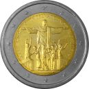 Vatikan 2 Euro Gedenkmünze 2013 ST XXVIII...