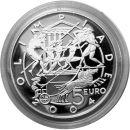 San Marino 5 Euro und 10 Euro Silber Gedenkmünzen PP...
