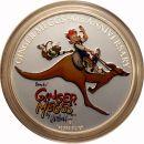 Australien 1 Dollar 2011 PP 90 Jahre Ginger Meggs Silber Zertifikat