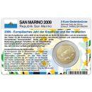 San Marino Münzkarte für 2 Euro 2009...