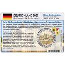 Deutschland Münzkarte für 2 Euro 2007...