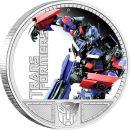 Tuvalu 1 Dollar 2009 PP Transformers - Optimus Prime...