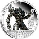 Tuvalu 1 Dollar 2009 PP Transformers - Megatron Silber im...