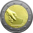 Malta 2 Euro Gedenkmünzen 2011 ST Rolle 1849 Wahl...