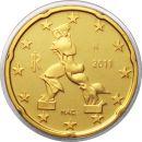 Italien 20 Cent 2011 PP Kursmünze aus KMS Proof