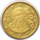 Italien 10 Cent 2011 PP Kursmünze aus KMS Proof