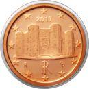 Italien 1 Cent 2011 PP Kursmünze aus KMS Proof