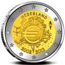 Niederlande KMS 2012 ST 1 Cent - 2 Euro und 2 Euro Gedenkmünze Folder