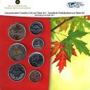 Kanada KMS 2012 ST 1 Cent - 2 Dollar World Money Fair...