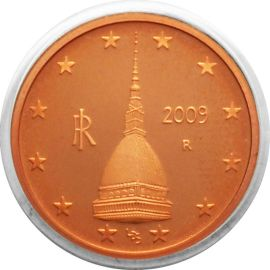 Italien 2 Cent Kursmünze 2009 PP aus KMS Proof