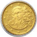 Italien 10 Cent Kursmünze 2008 PP aus KMS Proof