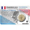Frankreich Münzkarte für 2 Euro 2012 - 100....
