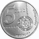 Portugal 5 Euro Gedenkmünze 2003 ST 150 Jahre...